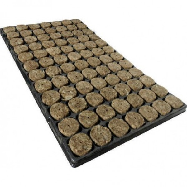 Speedgrow Green Organic Rockwool Plugs (Tray of 84)